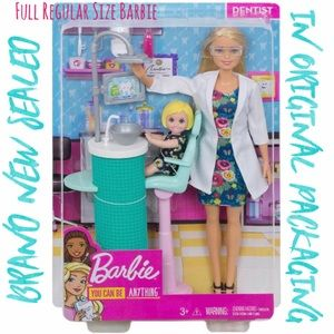 💖 BRAND NEW BARBIE SEALED IN ORIGINAL PACKAGING